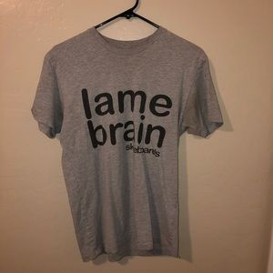 Lame brain skateboards next level T-shirt